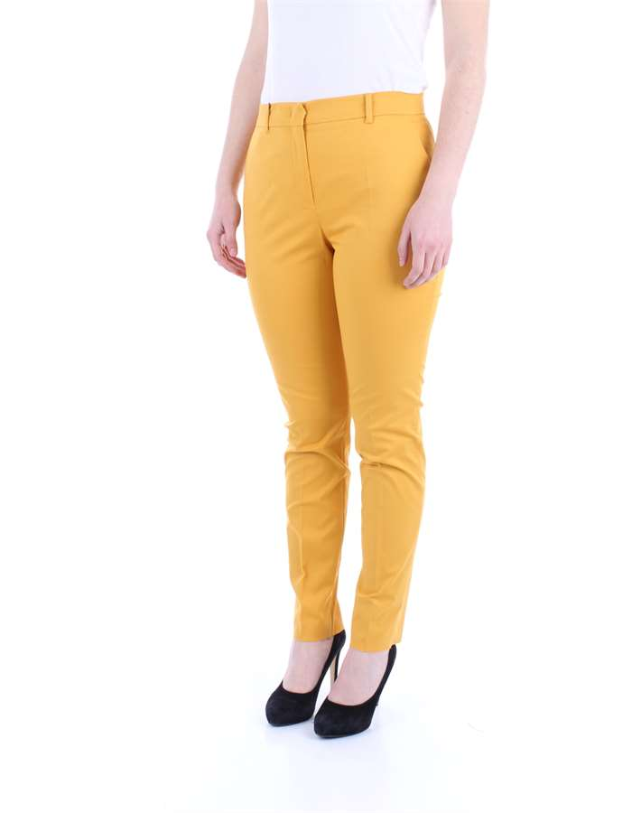 MAX MARA Trousers Yellow