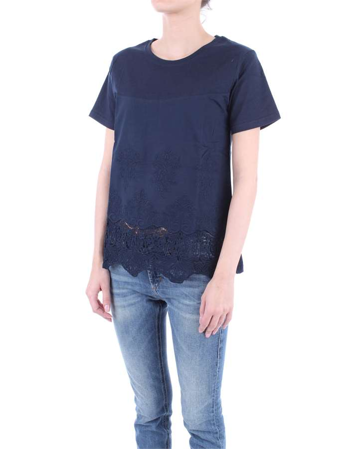 MOLLY BRACKEN T-shirt Blue