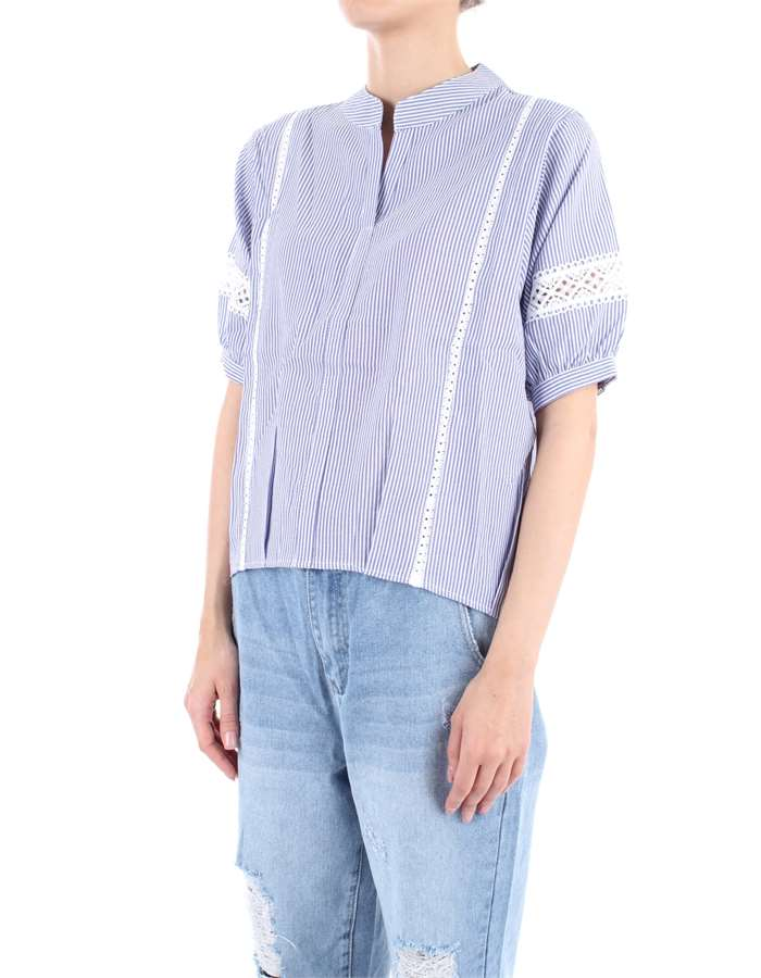MOLLY BRACKEN Top Blue