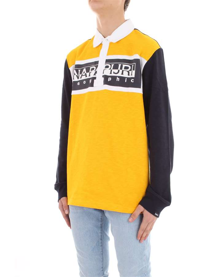 NAPAPIJRI Polo shirt Yellow
