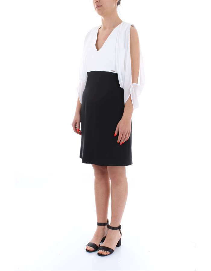 NENETTE Dress White black