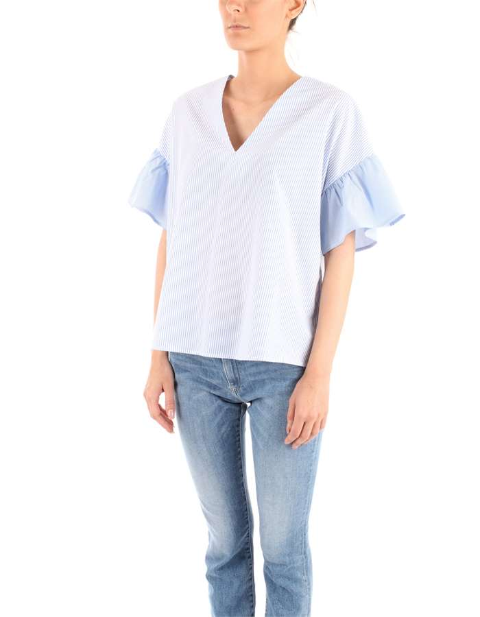 NENETTE Blouse Light blue