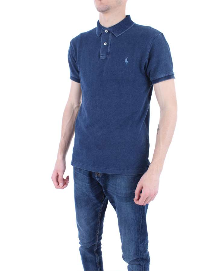 RALPH LAUREN Polo shirt Dark denim