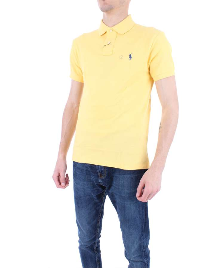 RALPH LAUREN Polo shirt Yellow