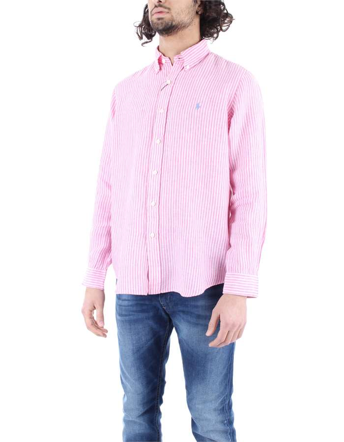 RALPH LAUREN Shirt Pink striped