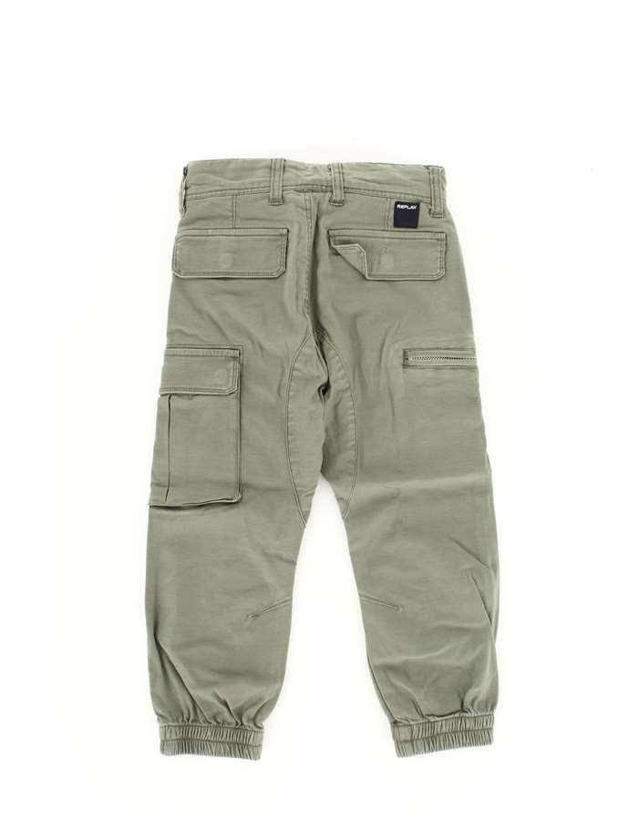 REPLAY Trousers Green