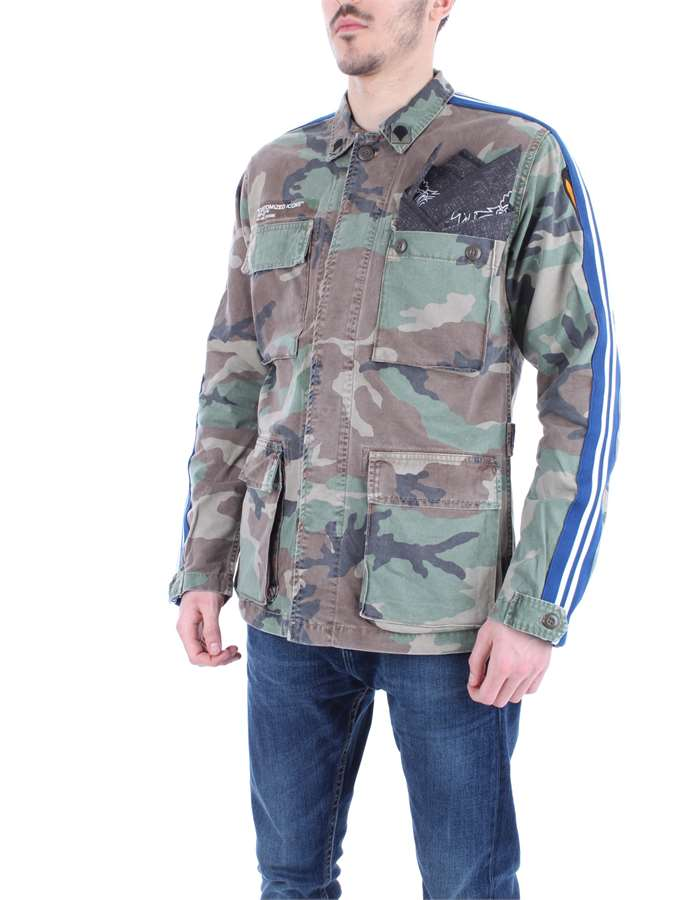 REPLAY Jacket Camouflage