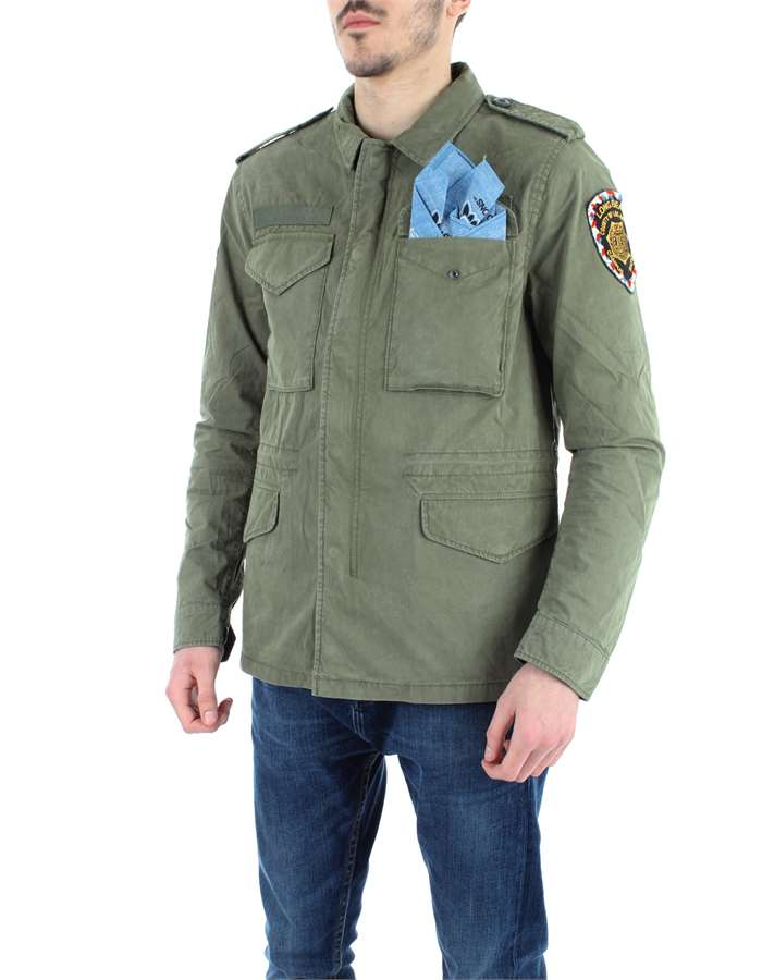 REPLAY Jacket Green