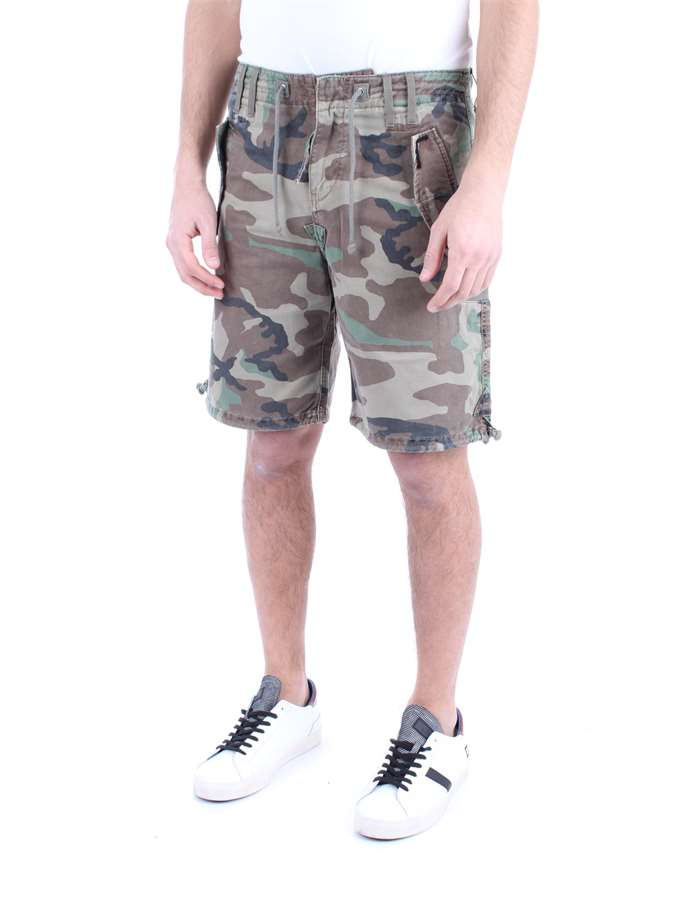 REPLAY Shorts Camouflage