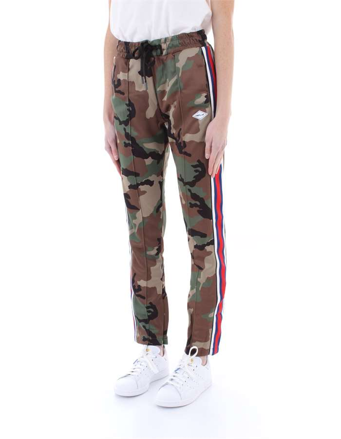 REPLAY Trousers Camouflage