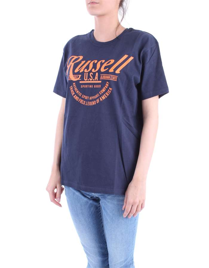 RUSSEL ATHLETIC T-shirt Blue