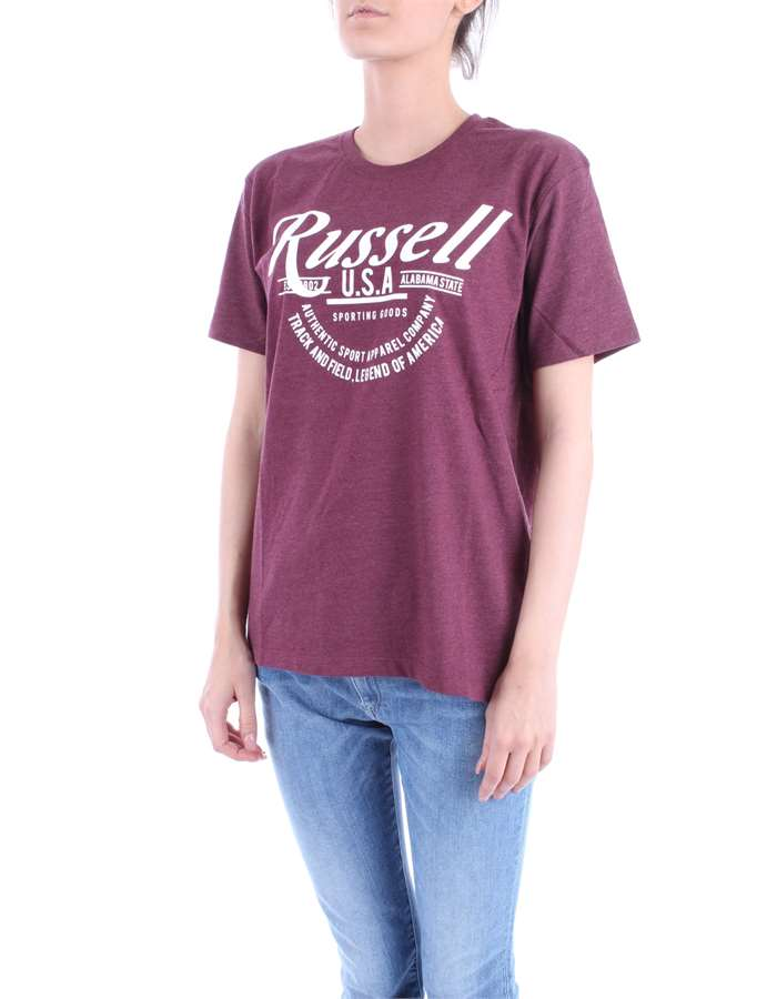 RUSSEL ATHLETIC T-shirt Bordeau