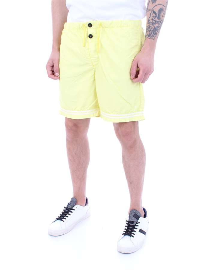 STONE ISLAND Swimsuit Yellow