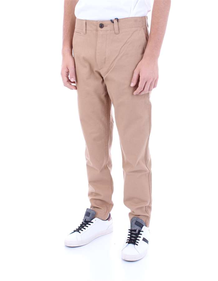 TOMMY HILFIGER Trousers Sand