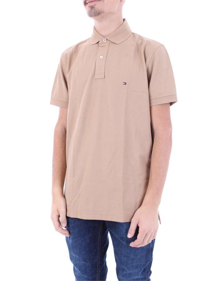 TOMMY HILFIGER Polo shirt Sand