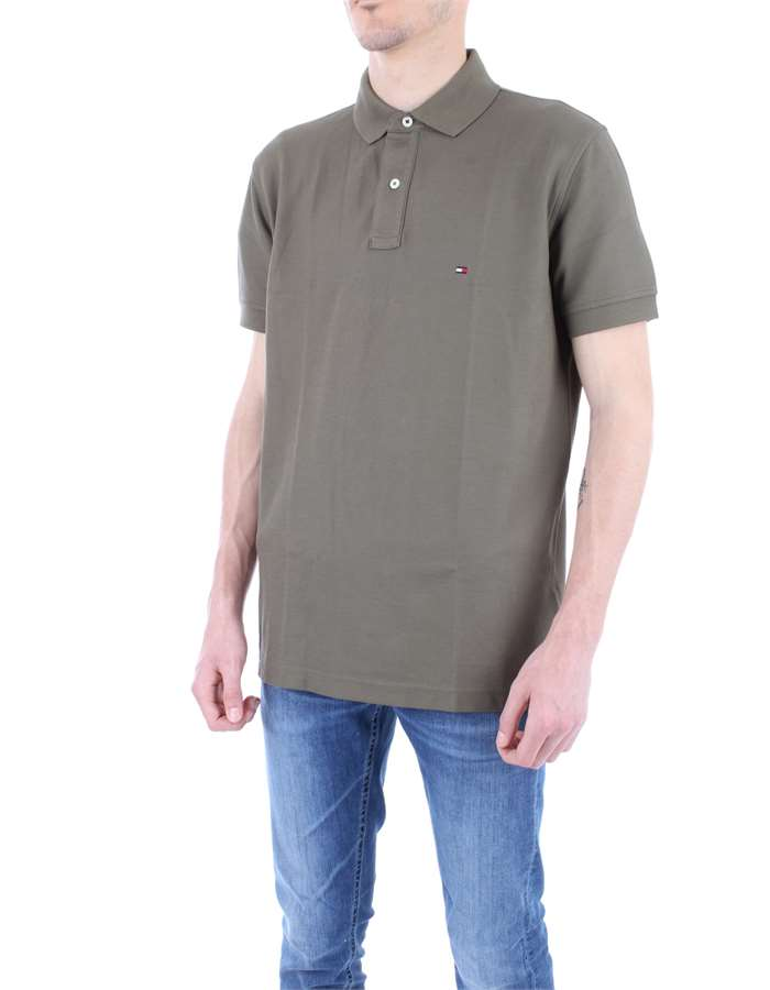 TOMMY HILFIGER Polo shirt Military