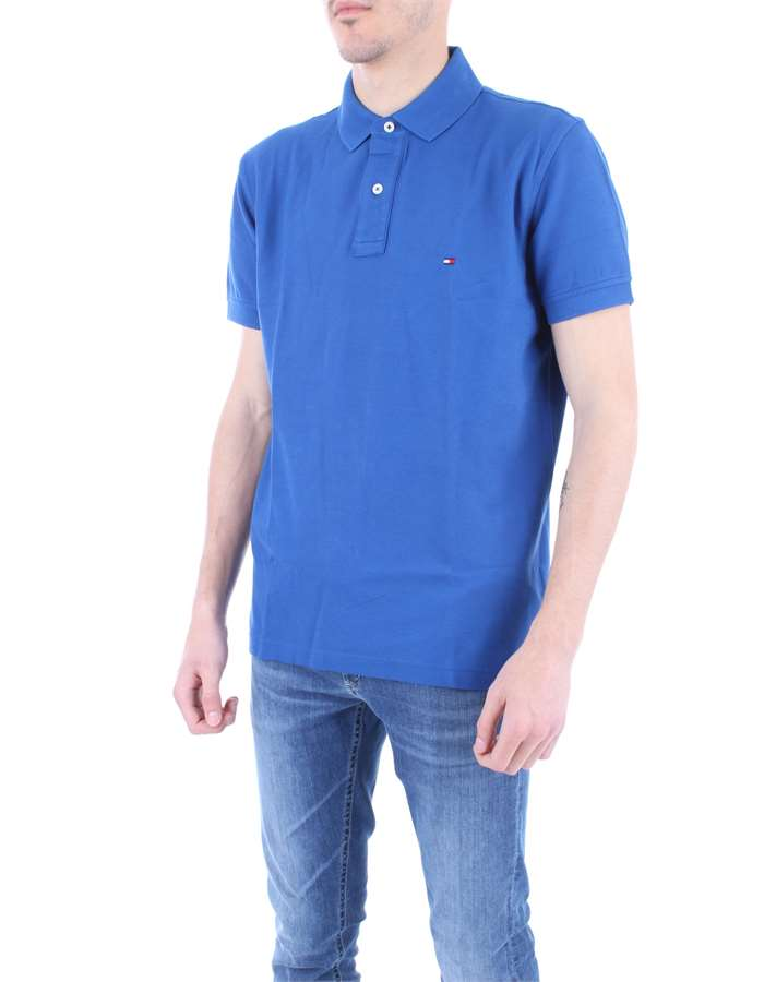 TOMMY HILFIGER Polo shirt Royal