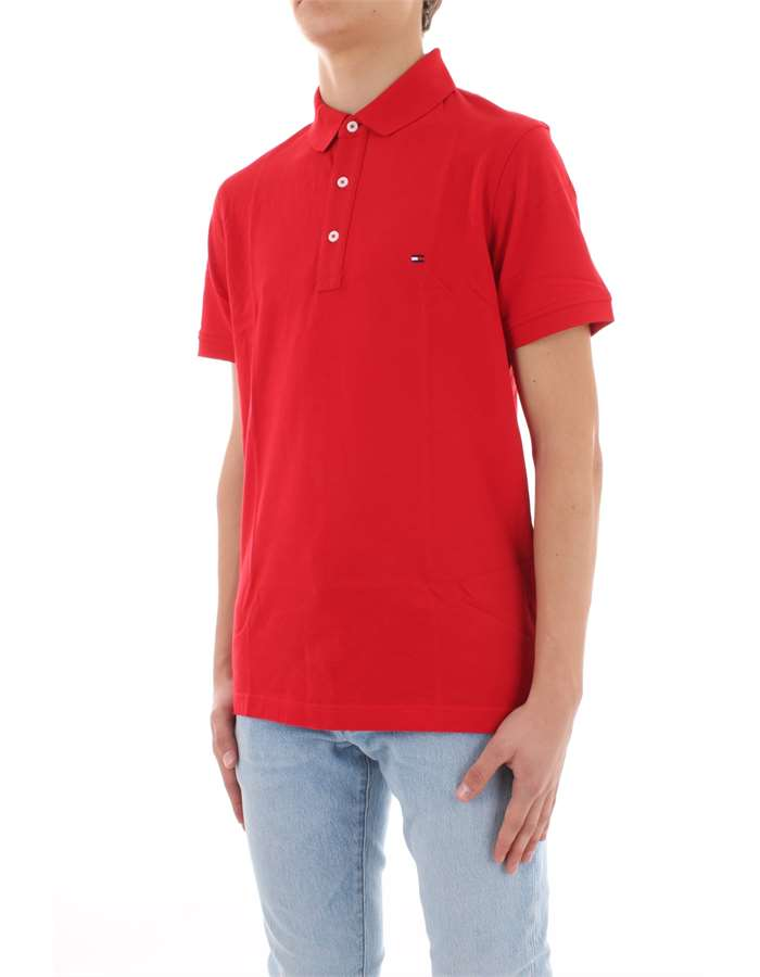TOMMY HILFIGER Polo shirt Red