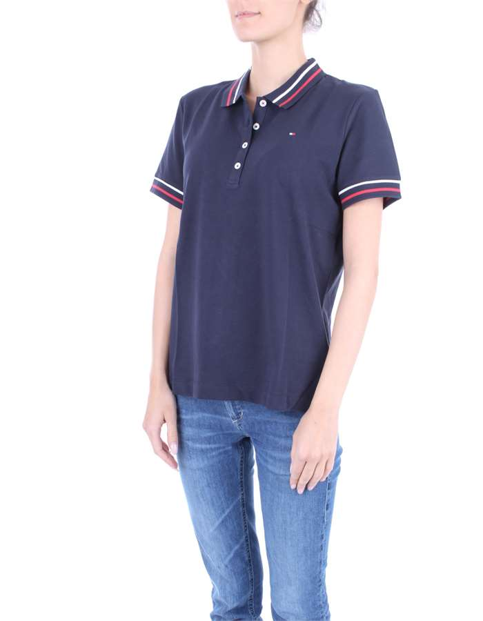 TOMMY HILFIGER Polo shirt Blue