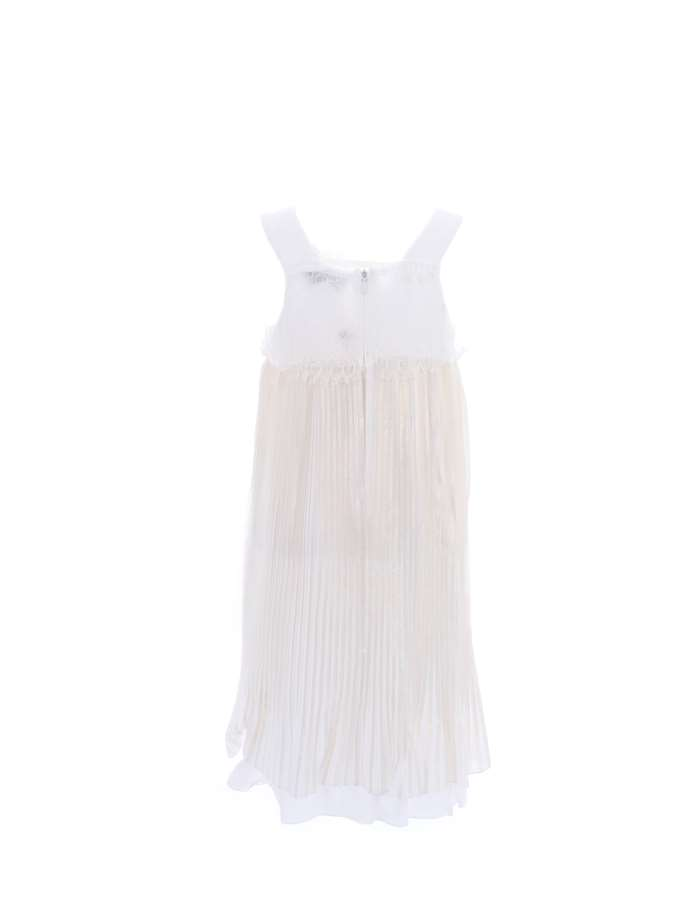 TWIN SET Dress White gold