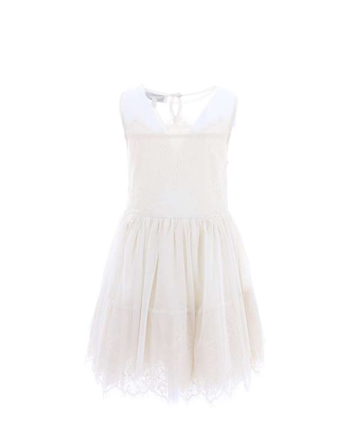 TWIN SET Dress Cream