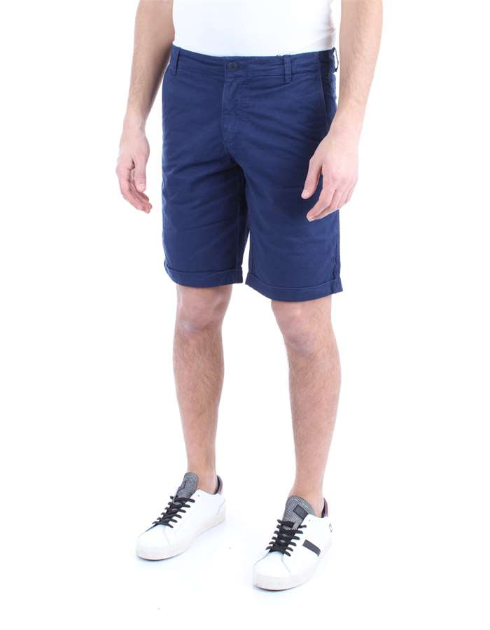 WOOLRICH Shorts Blue