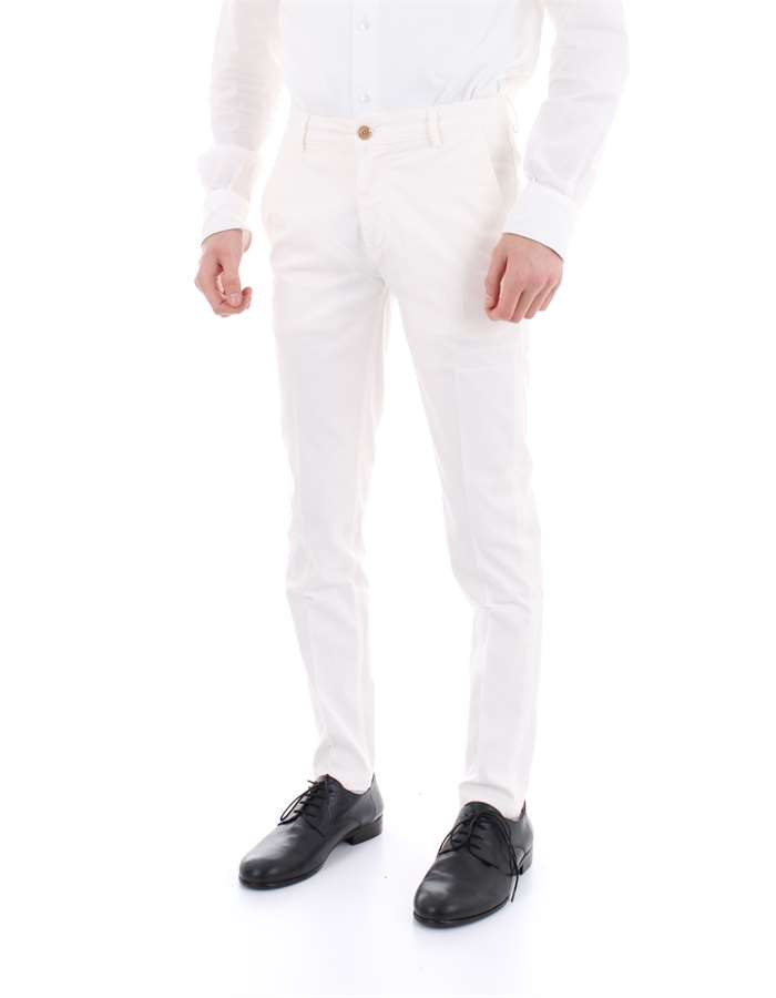 YAN SIMMONS Trousers White