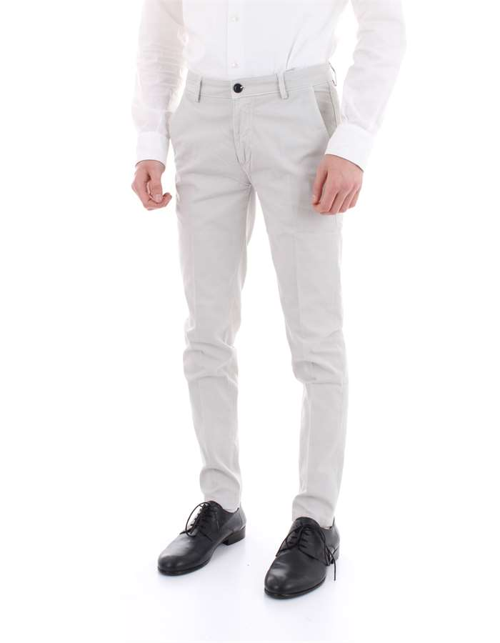 YAN SIMMONS Trousers Light grey