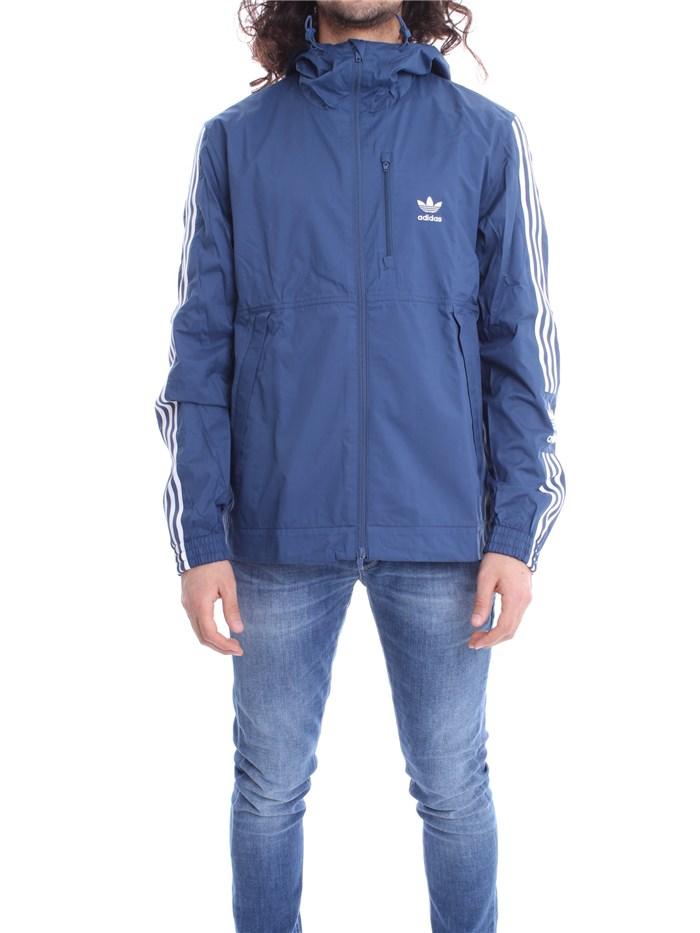 adidas abbigliamento uomo blu