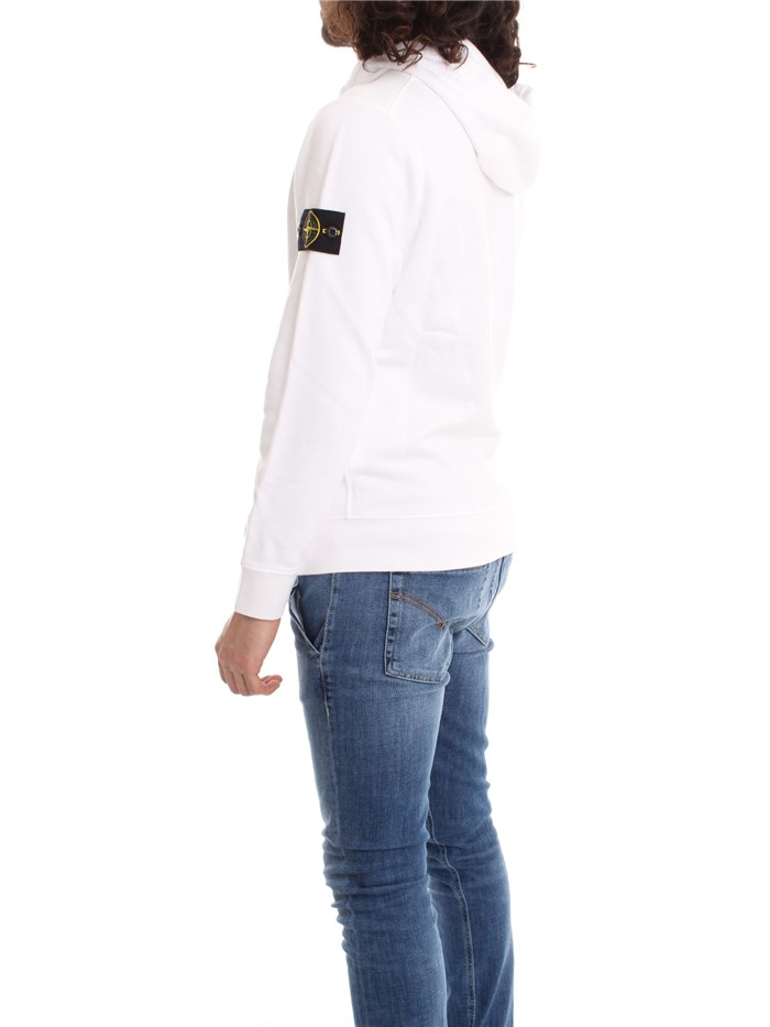 STONE ISLAND Clothing Men Sweatshirt White 721564251Max 1980
