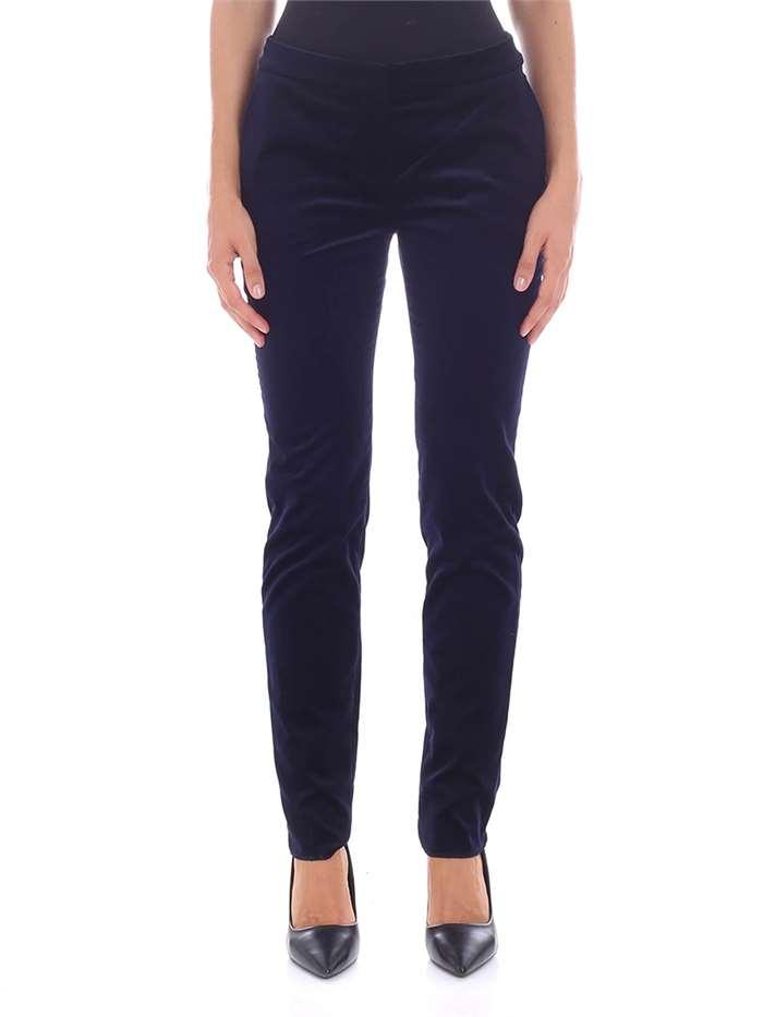 eedc36018a5a6 Pantaloni MAX MARA Donna - Blu - Vendita Pantaloni On line su ...