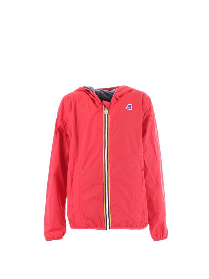 ee85caf88293 Giubbotto KWAY Bambina - Red ibiscus - Vendita Giubbotto On line su ...