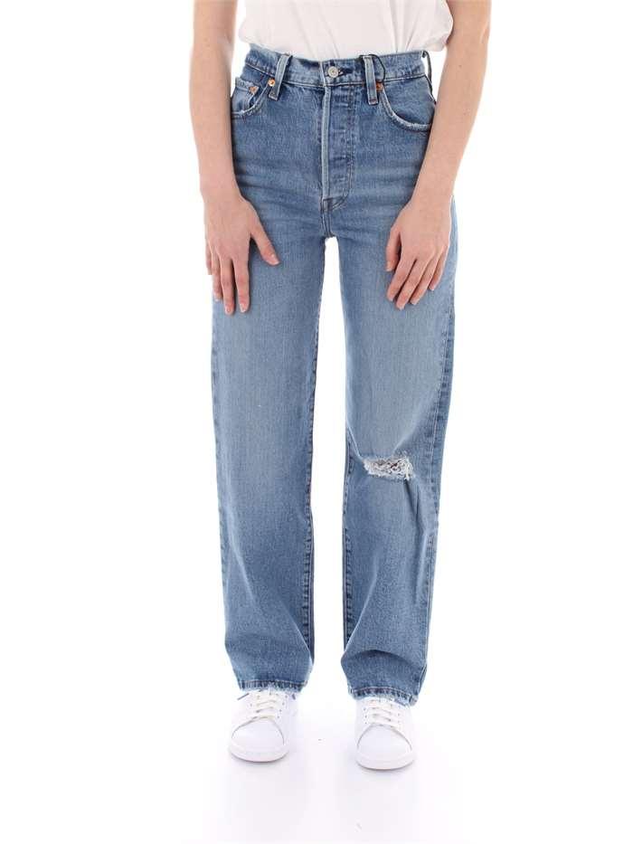 6cd6ab803595c On Donna Su Line Max 1980 Levi s Vendita Jeans Chiaro OxInP