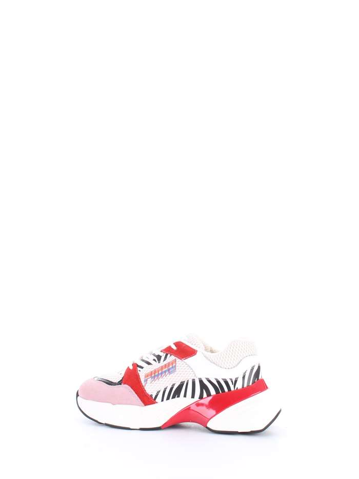 Sneakers PINKO Donna - Bianco nero rosso - Vendita Sneakers On line ... 2510436f4b6
