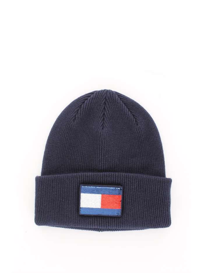 Cappello TOMMY HILFIGER Donna - Blu - Vendita Cappello On line su ... 9d3299be5565